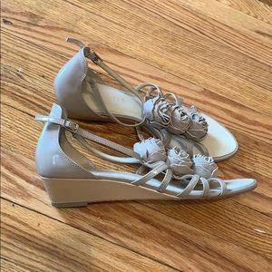 Talbots Floral Sandals